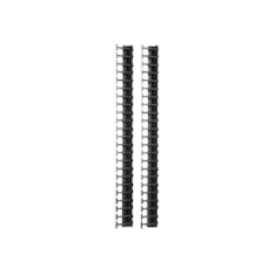 APC AR7723 Rack cable management panel - black - 48U (pack of 2)