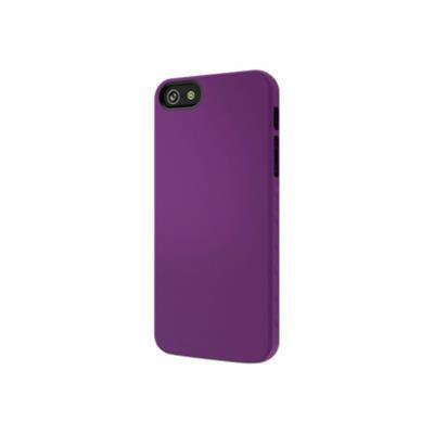 Cygnett CY0830CPAEG AeroGrip Feel Snap-on Case - Protective cover for cell phone - purple - for Apple iPhone 5