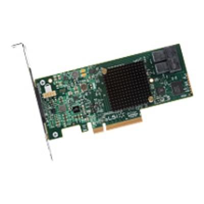 Lsi Logic Lsi00407 Megaraid Sas 9341-8i - Storage Controller (raid) - 8 Channel - Sata 6gb/s / Sas 12gb/s Low Profile - 1.2 Gbps - Raid 0  1  5  10  50  Jbod -