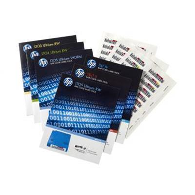 Hewlett Packard Enterprise Q2013A Ultrium 6 RW Bar Code Label Pack - Bar code labels - for StoreEver MSL2024  MSL4048  MSL8096  StoreEver 1/8 G2 Tape Autoloader