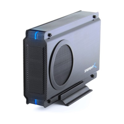 Sabrent EC-UEIS7 USB 2.0/ESATA TO 3.5in IDE OR SATA/SATA II Aluminum Hard Drive Enclosure