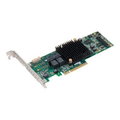 Adaptec 2277500-R 8805 - Storage controller (RAID) - 8 Channel - SATA 6Gb/s / SAS 12Gb/s low profile - 1.2 GBps - RAID 0  1  5  6  10  50  1E  60 - PCIe 3.0 x8