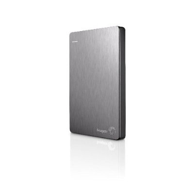 Seagate STDR1000101 1TB Backup Plus Slim Portable Drive - USB 3.0 - Silver