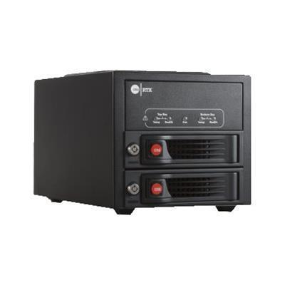 CRU-DataPort 35220-3130-0000 DataPort RTX 220-3QJ - Hard drive array - 2 bays (SATA-300) - HDD x 0 - FireWire 800  SATA 3Gb/s  USB 3.0 (external)