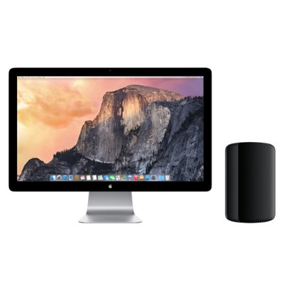 Apple Z0PK-3.0-64-1TB-D700 Mac Pro 8-Core Intel Xeon E5 3.0GHz  64GB RAM  1TB PCIe-based flash storage  Dual AMD FirePro D700  Mac OS X El Capitan