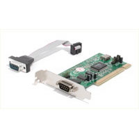 2 Port 16550 Low Profile PCI Serial Card