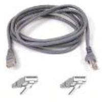 Belkin 7 ft. High Performance Category 6 Snagless Patch Cable, Gray