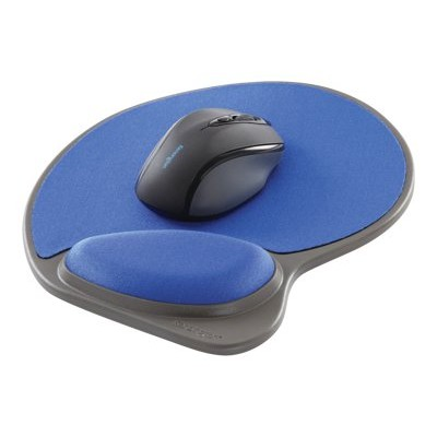 Kensington K62817USF Memory Foam Wrist Pillow - Mouse pad with wrist pillow - blue