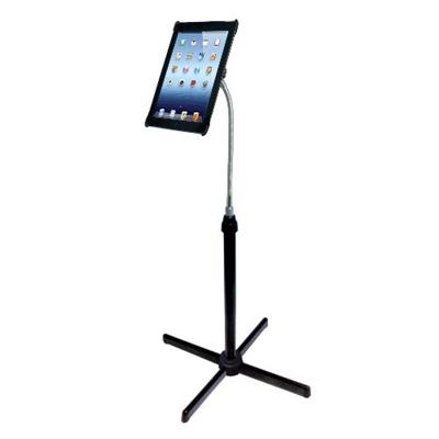 CTA Digital PAD-AFS Height-Adjustable Gooseneck Floor Stand for iPad 2nd-4th Generation