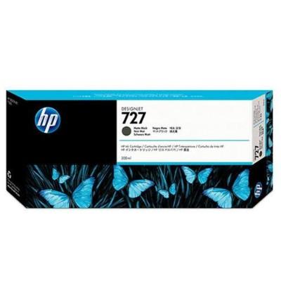 HP Inc. C1Q12A 727 300-ml Matte Black Designjet Ink Cartridge