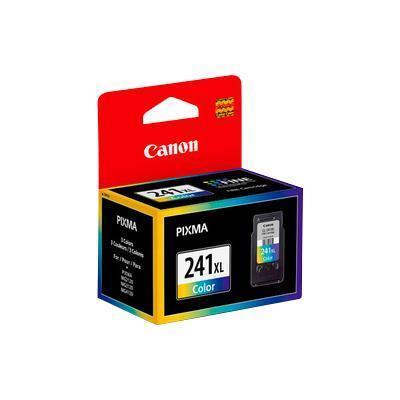 Canon 5208B001 CL-241XL - XL - color (cyan  magenta  yellow) - original - ink cartridge - for PIXMA MG3122  MG3222  MG3520  MG3522  MG3620  MX392  MX4