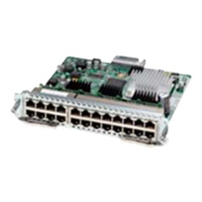 Cisco SM-X-ES3-24-P= SM-X Layer 2/3 EtherSwitch Service Module - Switch - managed - 24 x 10/100/1000 (PoE+) - plug-in module - PoE+