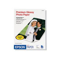 Epson S041464 5 x 7 Borderless Premium Photo Paper Glossy - 20 Sheets
