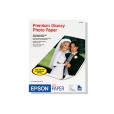 Epson S041465 8 x 10 Borderless Premium Photo Paper Glossy - 20 Sheets
