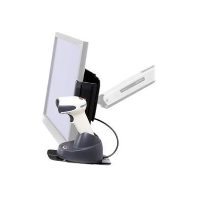 Ergotron 97-815 Scanner Shelf  VESA Attach - Barcode scanner shelf - black - for P/N: 45-353-026