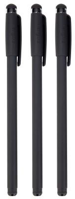 Targus AMM06TBUS Stylus & Pen - Stylus / ballpen - black (pack of 3)