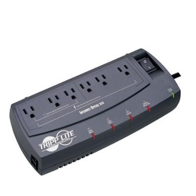 TrippLite INTERNETOFFICE300 300VA 150W UPS Desktop Battery Back Up Compact 120V RJ45