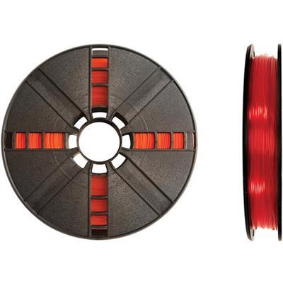 MakerBot Industries MP05764 1.75mm PLA Filament Large Spool  2 lb - Translucent Orange
