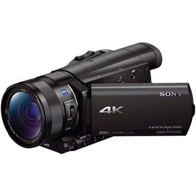 4K Camcorder with 1 Sensor