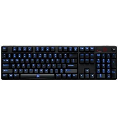 ThermalTake KB-PIZ-KLBLUS-01 POSEIDON Z Illuminated – Blue Switch Edition