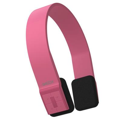 Bluepulse Bluetooth Wireless Headphones With Microphone For Iphone  Ipad  Smartphones & Tablets - Pink