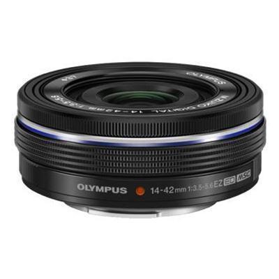 Olympus V314070BU000 M.Zuiko Digital - Zoom lens - 14 mm - 42 mm - f/3.5-5.6 ED EZ - Micro Four Thirds - for  E-P3  E-P5  E-PL1s  E-PL3  E-PL5  E-PL6  E-PM1  E-
