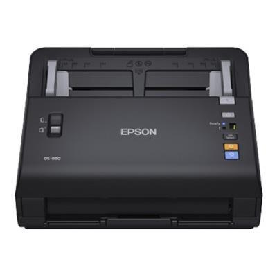 Epson B11B222201 WorkForce DS-860 - Document scanner - Duplex - 8.5 in x 120 in - 600 dpi x 600 dpi - up to 65 ppm (mono) / up to 65 ppm (color) - ADF (80 sheet