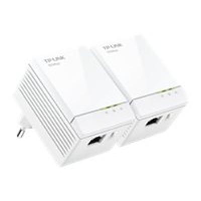 TP-Link TL-PA6010KIT TL-PA6010KIT AV600 Gigabit Nano Powerline Adapter Starter Kit - Bridge - GigE  HomePlug AV (HPAV) - wall-pluggable (pack of 2)