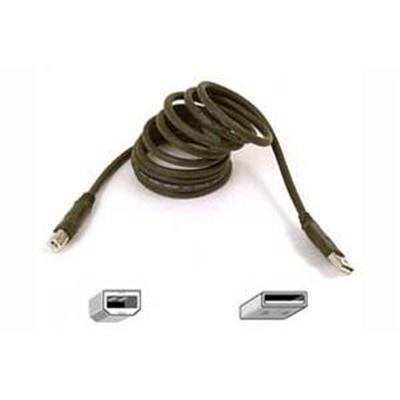 Discount Electronics On Sale Belkin F3U133B06 6 Foot Pro Series Hi-Speed USB 2.0 A-B Cable - Connect your computer to your printer and peripheral devices