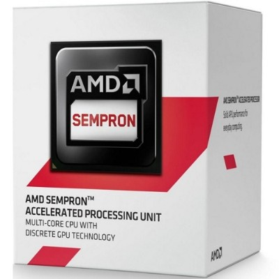 Advanced Micro Devices SD2650JAHMBOX AMD Sempron Dual-Core 2650 1.45GHz Socket AM1 Boxed Processor