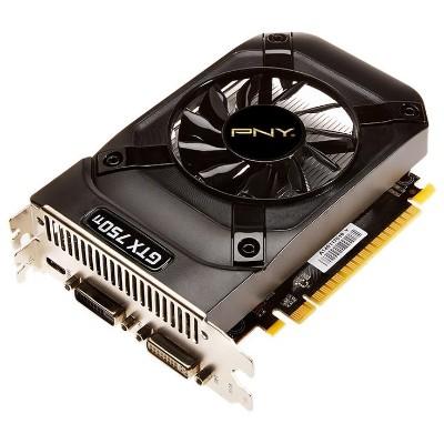 Pny Vcggtx750t2xpb-oc Nvidia Geforce Gtx 750 Ti 2048mb Oc Pcie Graphics Card