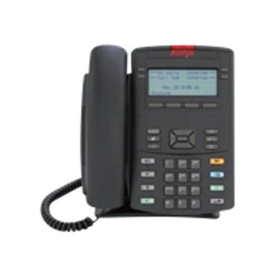 Avaya NTYS19AD70E6 1220 IP Deskphone - VoIP phone - SIP - multiline - charcoal