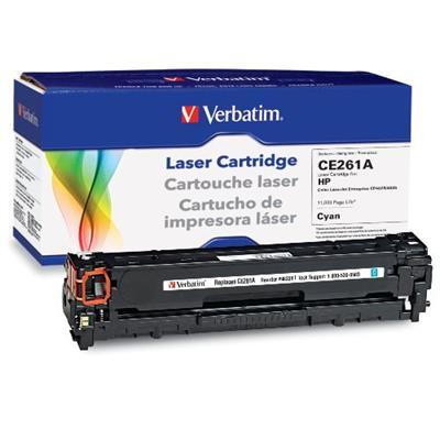 Verbatim 98339 HP CE261A Cyan Remanufactured Laser Toner Cartridge