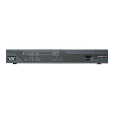 Cisco C891F-K9 891F - Router - ISDN/Mdm - 8-port switch - GigE - rack-mountable