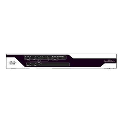 Cisco C891FW-A-K9 891FW - Wireless router - ISDN/Mdm - 8-port switch - GigE - WAN ports: 3 - 802.11a/b/g/n - Dual Band