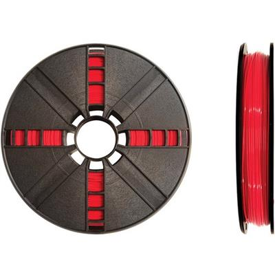 MakerBot Industries MP05789 1.75mm PLA Filament Small Spool  0.5 lb - True Red