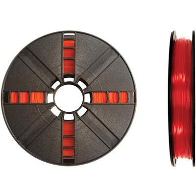 MakerBot Industries MP05763 1.75mm PLA Filament Small Spool  0.5 lb - Translucent Red