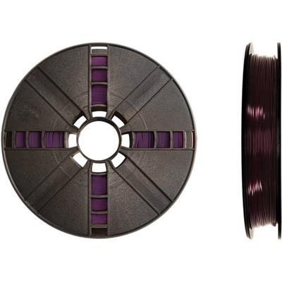 MakerBot Industries MP05769 1.75mm PLA Filament Small Spool  0.5 lb - Translucent Purple