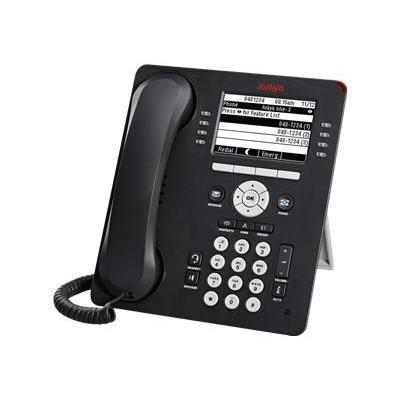 Avaya 700505424 9608 IP Deskphone - VoIP phone - H.323  SIP - 8 lines - gray