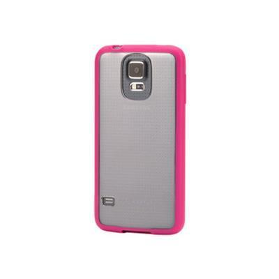 Griffin GB39052 Reveal for Galaxy S5 - Hot Pink/Clear