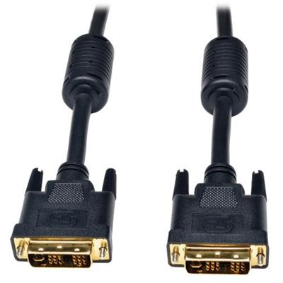 TrippLite P561-006-SLI 6ft DVI-I Single Link Digital Analog Molded Monitor Cable 6'