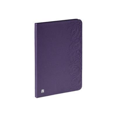 Verbatim 98533 Folio Expressions - Protective cover for tablet - floral purple - for Apple iPad mini iPad mini 2
