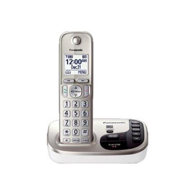 Panasonic KX-TGD220N KX-TGD220N - Cordless phone - answering system with caller ID/call waiting - DECT 6.0 Plus