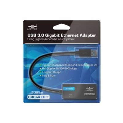 Vantec CB-U300GNA CB-U300GNA - Network adapter - USB 3.0 - Gigabit Ethernet x 1