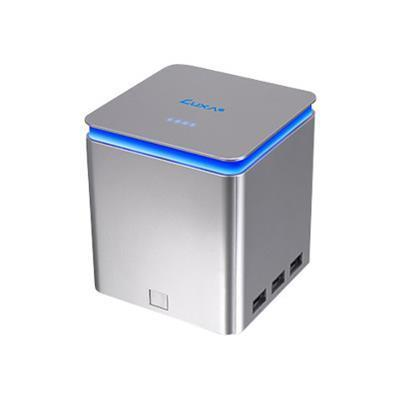ThermalTake PO-UNP-PCPMSI-00 LUXA2 P-MEGA Power Station - Power bank Li-Ion 41600 mAh - 6 output connectors (USB (power only)) - silver