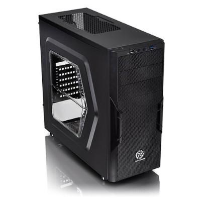 ThermalTake CA-1B3-00M1WN-00 Versa H22 Window - Mid tower - ATX - no power supply ( ATX / PS/2 ) - black - USB/Audio