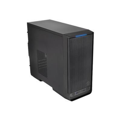 ThermalTake CA-1A8-00M1NN-00 Urban S1 - Micro tower - micro ATX - no power supply ( ATX / PS/2 ) - black - USB/Audio