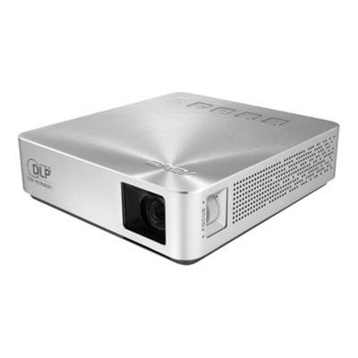 ASUS S1 S1 - DLP projector - 200 lumens - WVGA (854 x 480) - 16:9 - ultra short-throw fixed lens