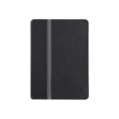 Belkin F7N101B1C00 FormFit Cover - Protective cover for tablet - blacktop - for Apple iPad Air