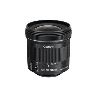 Canon 9519B002 EF-S - Wide-angle zoom lens - 10 mm - 18 mm - f/4.5-5.6 IS STM -  EF - for EOS 100  1200  650  70  700  Kiss X6i  Kiss X7  Kiss X70  Ki